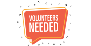 Volunteers Needed graphic